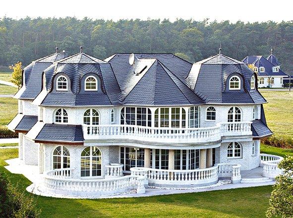 Fertighaus villa mit pool  Massivhaus o. Fertighaus preiswert bauen