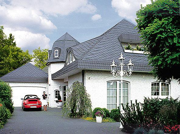 Fertighaus landhaus villa  Massivhaus o. Fertighaus preiswert bauen