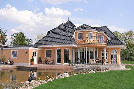 Fertighaus villa grundriss  Massivhaus o. Fertighaus preiswert bauen