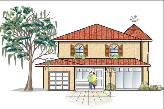 Fertighaus mediterran  Massivhaus o. Fertighaus preiswert bauen