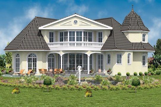 Luxus fertighaus villa  Massivhaus o. Fertighaus preiswert bauen