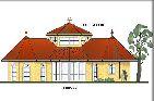 PRIMAVERA Barrierefreier Winkel-Bungalow Bungalow-Hausbau 179